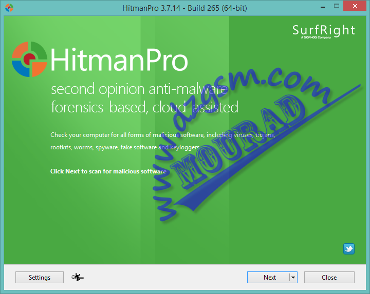 HitmanPro 3.7.14 Build 265 (64-bit)