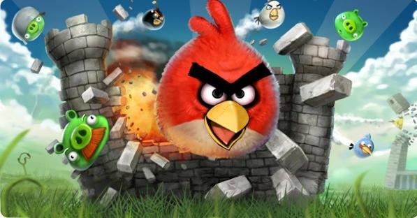 اللعبة الاكثر شعبية Angry Birds