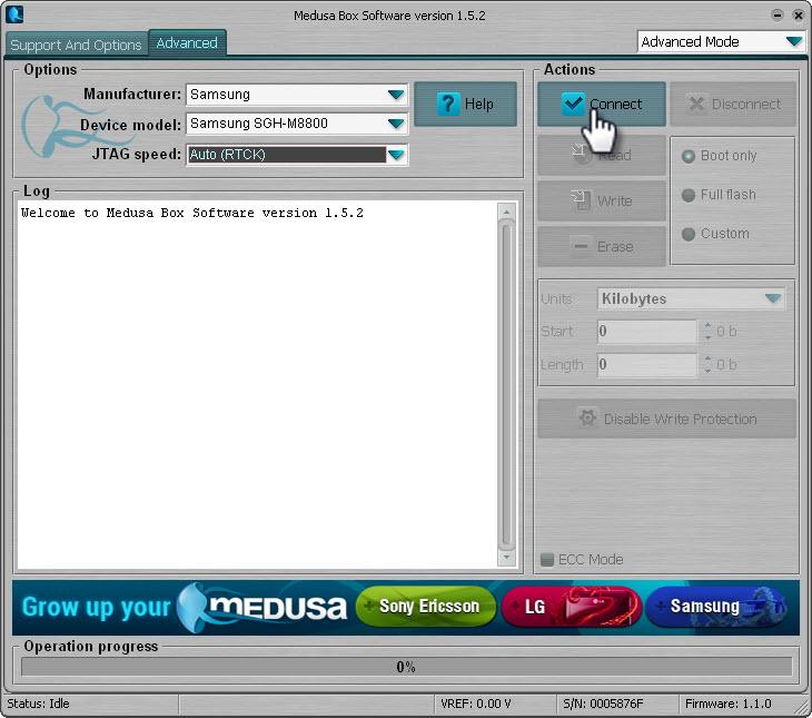 كيفية تصليح بوت Samsung M8800 على بوكس العملاق