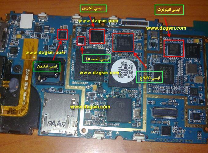 مرة اخرى مع التشريحات وهذه المرة جهاز m8800