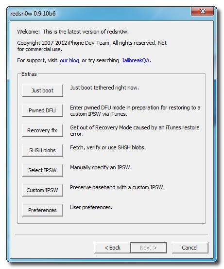 مشكلة في الايفون4 بعد جيلبريك 5.1