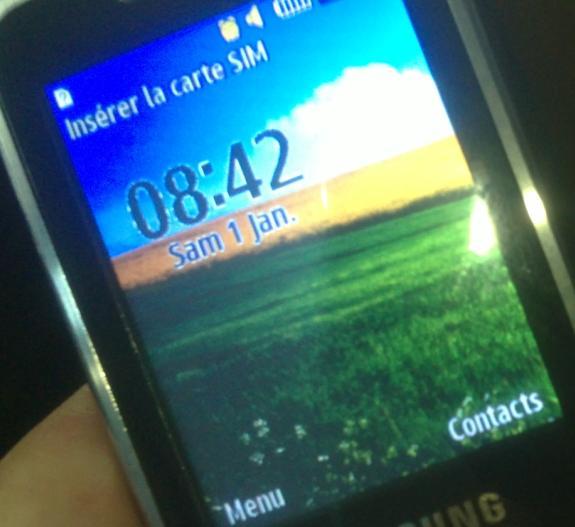 حل مشكلة الانارة في شاشة c3322