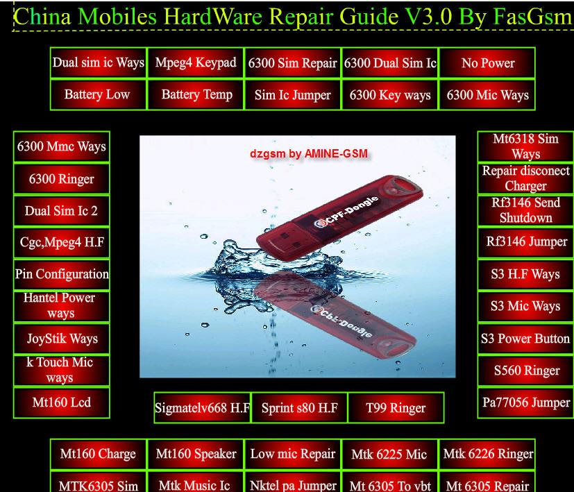 برنامج لصيانة بعض انواع الهواتف الصينية