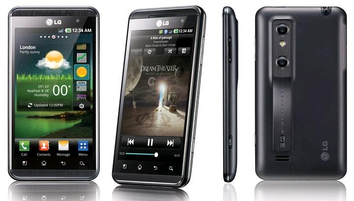 ��� ����� ����� ����� ��LG P920 (������� 4.0.4) Lg Optimus 3D