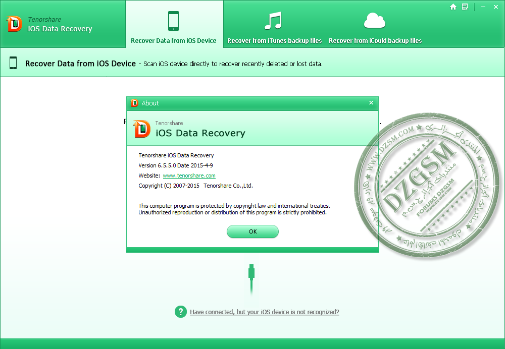 iOS Data Recovery 6.5.5.0