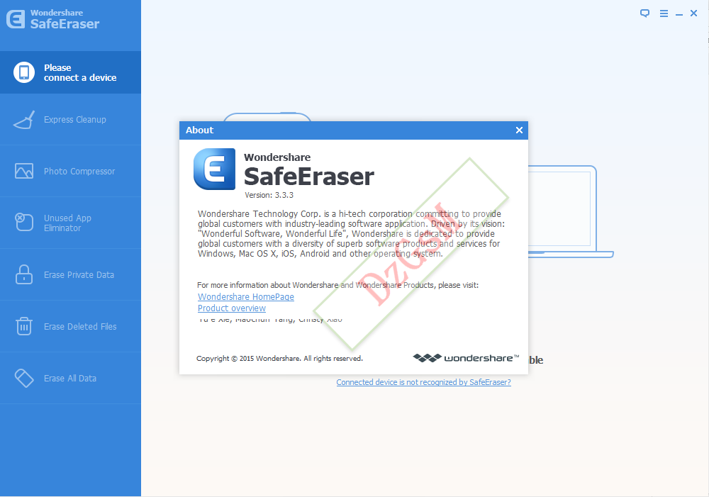 Wondershare SafeEraser 3.4.1.0 + Patch خلص بأجهزة Apple لكن مشكل