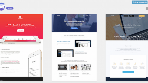 ���� �������� ����� Landing Pages