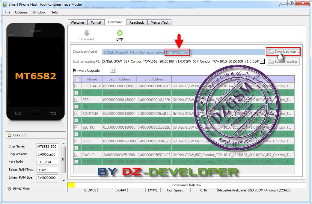 Firmware Condor TCV-101G