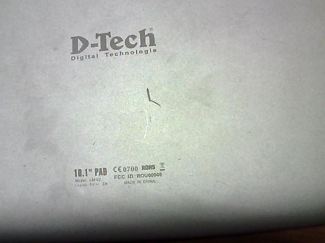 طلب فلاش تابليت D-tech lm02 10.1