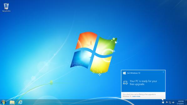 مايكروسوفت تعتزم إطلاق نظام ويندوز 10 للمستخدمين تدريجيا وليس دفعة واحدة