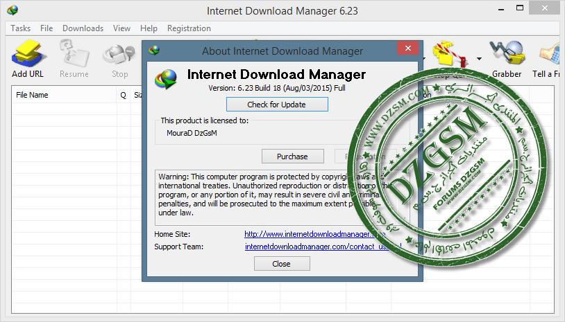 تحديثات Internet Download Manager (آخر تحديث 6.28)