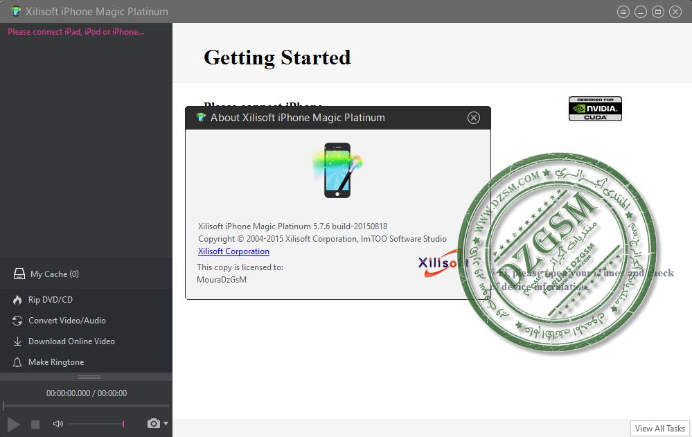 Xilisoft iPhone Magic Platinum 5.7.6.20150818 متعدد اللغات
