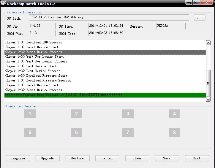 تعريب الوافد الجديد  Tablette CONDOR  TGW-706