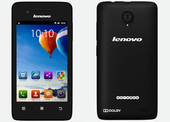 Lenovo A319 Logo Ooredoo + Loader