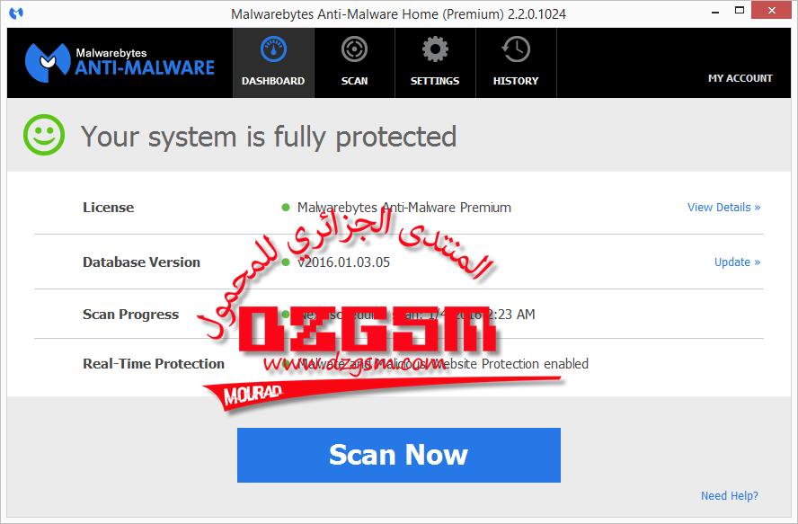 Malwarebytes Anti-Malware v2.2.0.1024-2016
