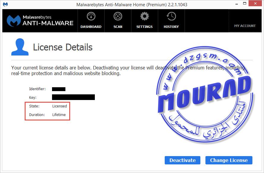 Malwarebytes Anti-Malware Premium 2.2.1.1043 Final Multilingual