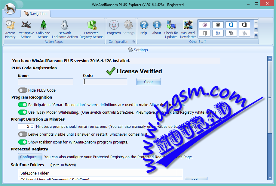 مكافح فيروس الفدية WinAntiRansom Plus v 2016.4.428.0