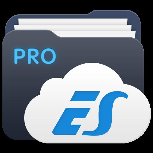 ES File Explorer PRO v1.0.7+Material Theme