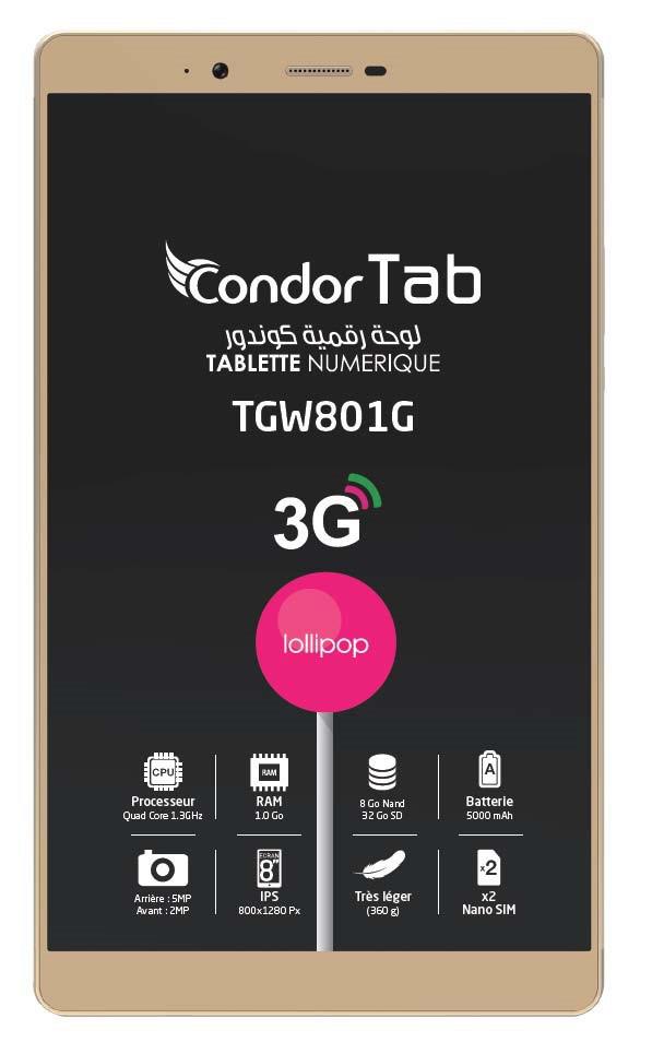 �Tablet Condor TGW801G & TGW801L