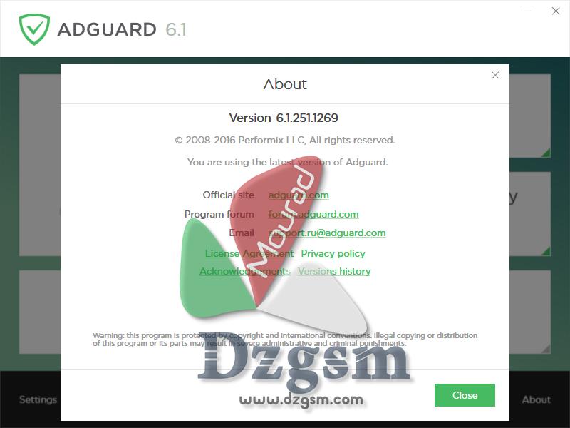 Adguard Premium 6.1.251.1269