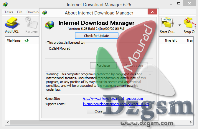 تحديثات Internet Download Manager (آخر تحديث 6.27)