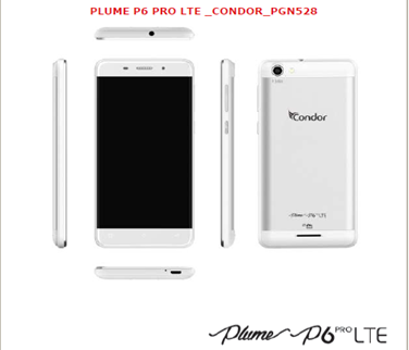 حصريا في منتدى فقط  فلاشات الاصلية من الشركة كوندور p6pro lte انواع 3 فلاش