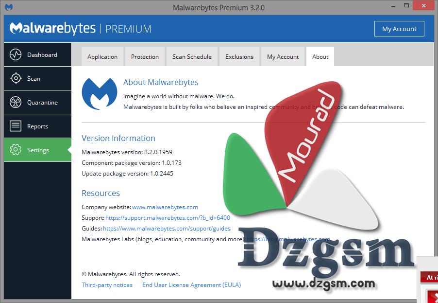 Malwarebytes Anti-Malware 3.2.0.1959