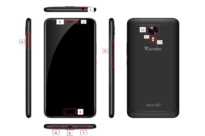 حصريا على المنتدى فقط  فلاش الوافد الجديد Allure M1 (SP614) Android 7.0 NOUGA
