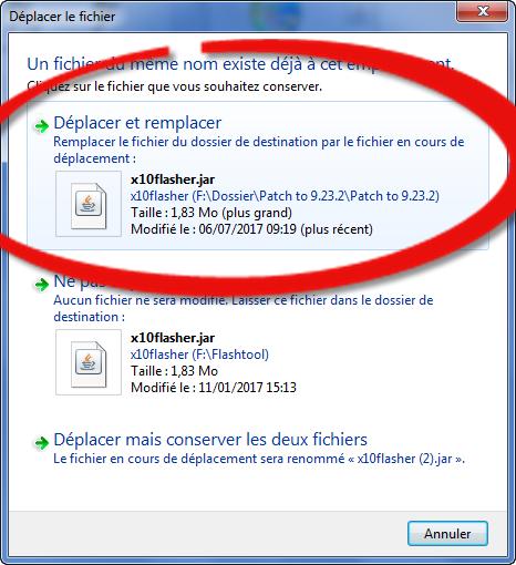 تثبيت النسخة 0.9.23.2 FlashTool