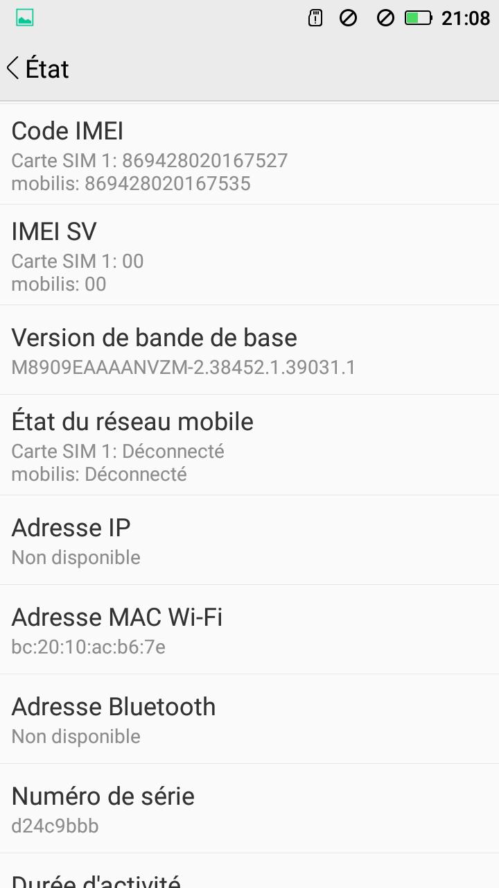 مشكلة في هاتف Stream B3 Simply