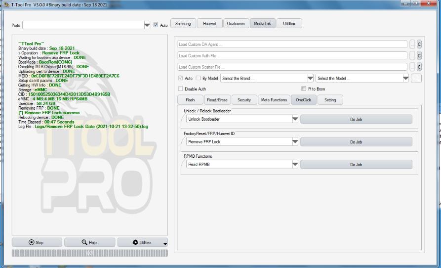 تجارب الاعضاء الناجحة على واجهة TTool Pro